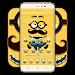 Happy friend cute cartoon icon theme