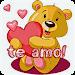 Teddy bears with love phrases \ud83e\uddf8\u2764\ufe0f