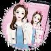 Download Pink Makeup Girl Theme APK