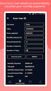 download auto loan iq car loan calculator loan reminder apk android games and apps apk fun